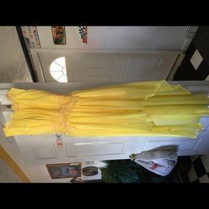Dresses & Skirts - New Women's Yellow Cocktail/Bridesmaid Dress Sz 6